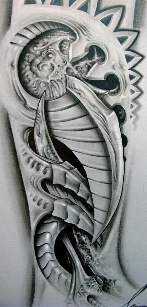 die besten 25 biomechanik tattoo zeichnen ideen auf. Black Bedroom Furniture Sets. Home Design Ideas