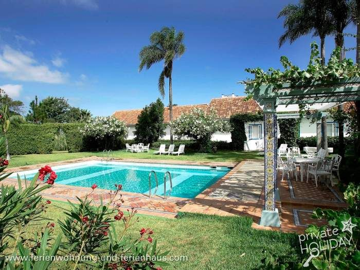 Luxusbungalow mit Pool, Sauna, Meerblick, Tennisplatz im Norden von #Teneriffa