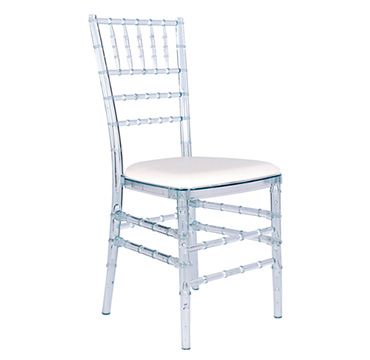 Crystal Chiavari - elegant and crisp