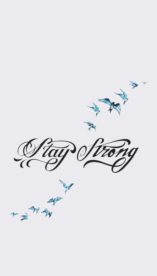 Stay strong ~ Demi Lovato                                                                                                                                                     More