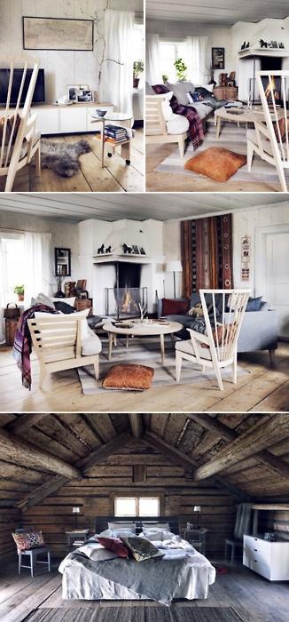 Si tuvieras que decorar una casa rural en las montañas ¿Optarías por el Estilo Escandinavo? #esmadeco