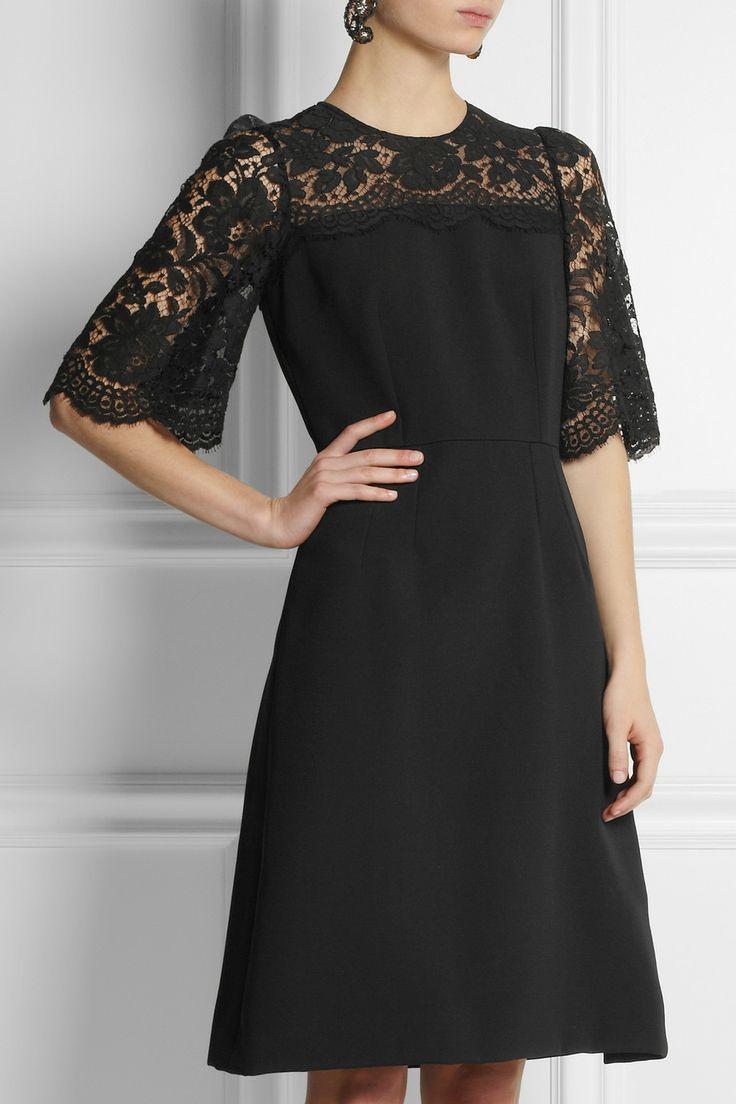 Classic romantic dress style