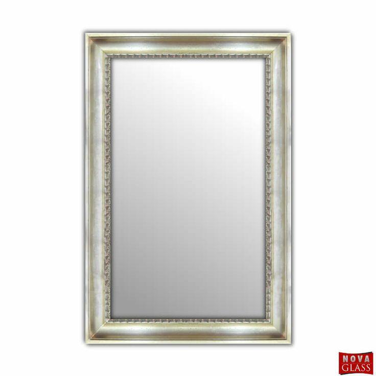 Καθρέπτης τοίχου με ξύλινη κορνίζα Νο 610