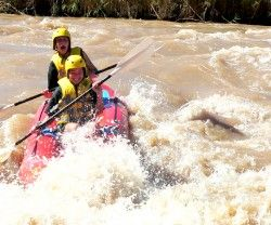 RIVER RAFTING   One-to-four day rafting trips are available on newly-acquired rafts. The rafting takes place over the Fish River Marathon course as well as on the Brak and Teebus rivers. Rapids on all the courses range from grade 1 to 4.   Each trip is organized to meet the individual needs of visitors. All trips are overseen by qualified guides trained and affiliated to the African Paddling Association (APA).