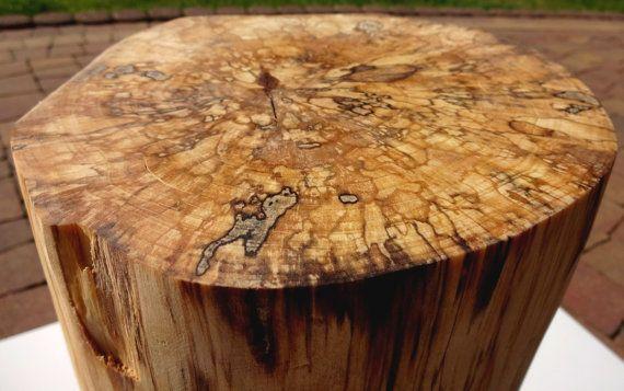Beautifull cross section Tree Stump End table tree trunk