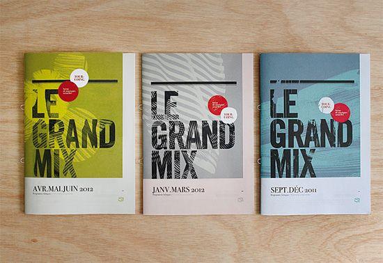 Graphic Design by Les Produits de L'épicerie   Inspiration Grid   Design Inspiration