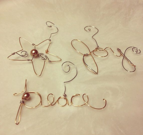 Best Wire Christmas Decorations Images On Pinterest - Diy copper stars for christmas decor