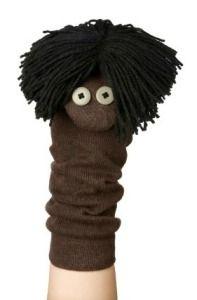Sock puppet. :) Jodi from the Clutter-Free Classroom www.CFClassroom.com