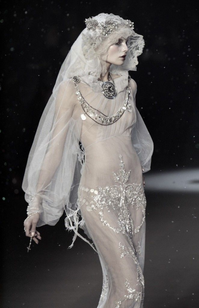 John Galliano. Lucy from Bram Stoker's Dracula                                                                                                                                                                                 More