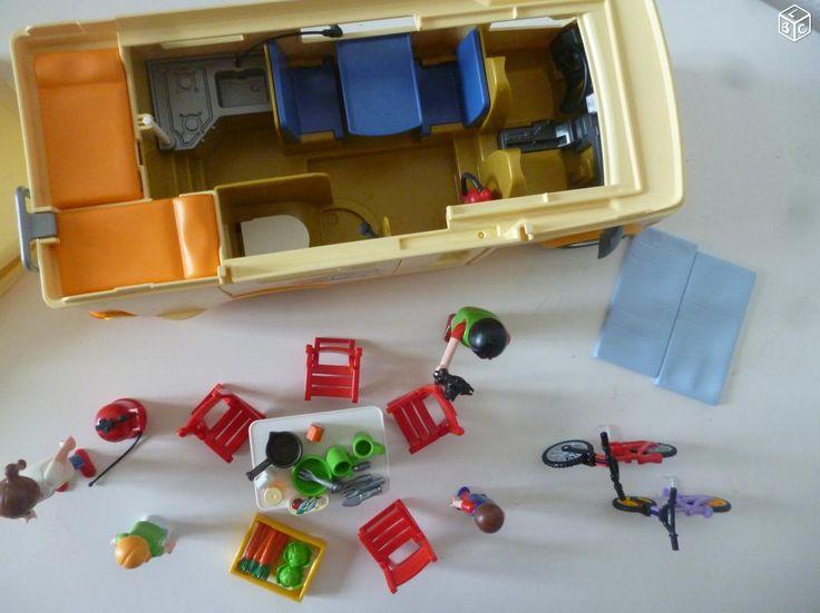 Playmobil -3647- Famille avec camping-car