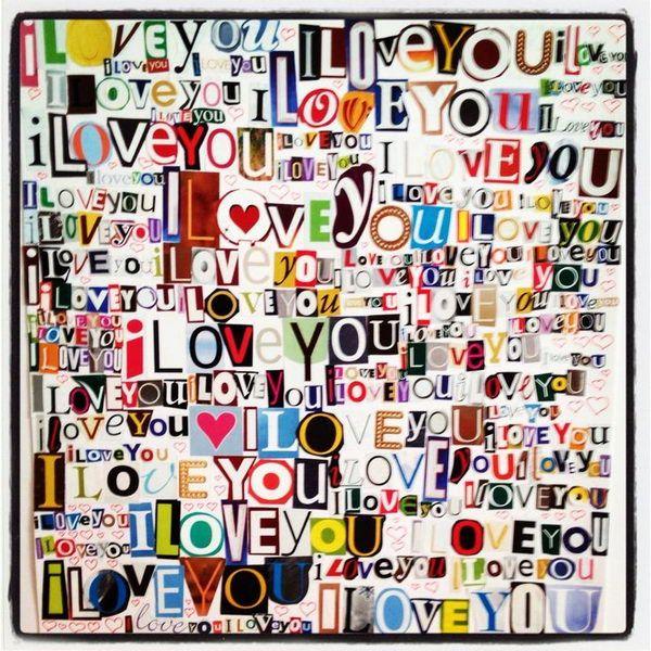 I Love You Scrapbook Idea. http://hative.com/romantic-scrapbook-ideas-for-boyfriend/