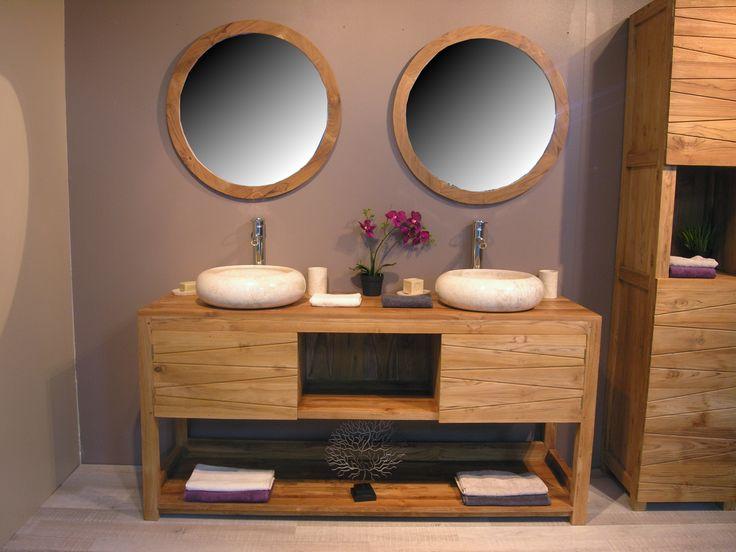 The 25+ Best Meuble Double Vasque Bois Ideas On Pinterest