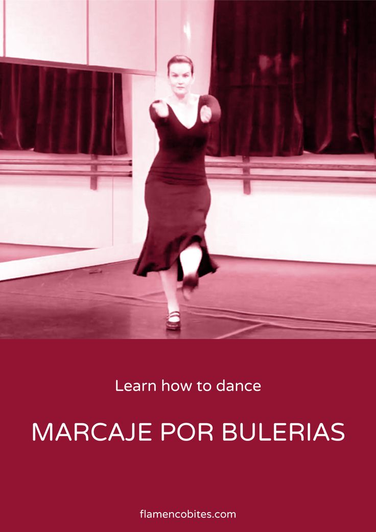 Learn this marcaje por bulerías with Flamenco Bites.                                                                                                                                                                                 More