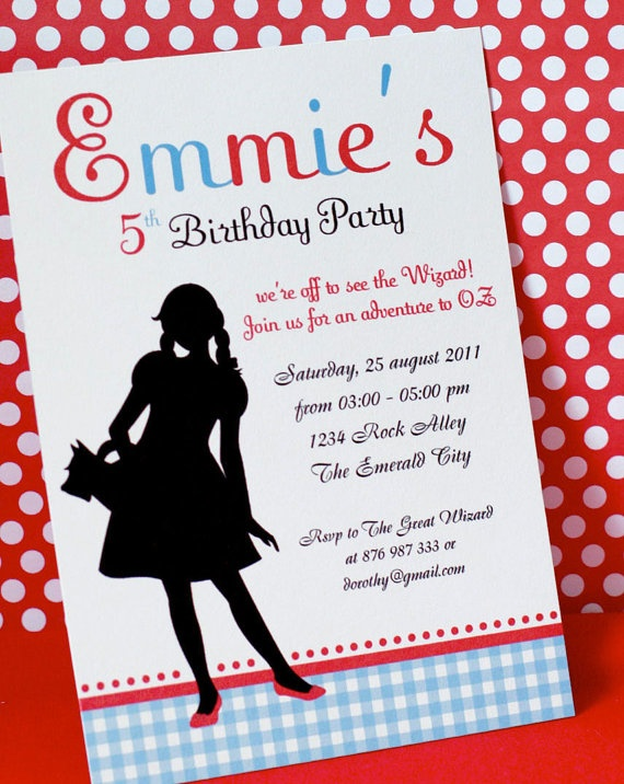 109 best images about Wizard of Oz Birthday – Wizard of Oz Birthday Party Invitations