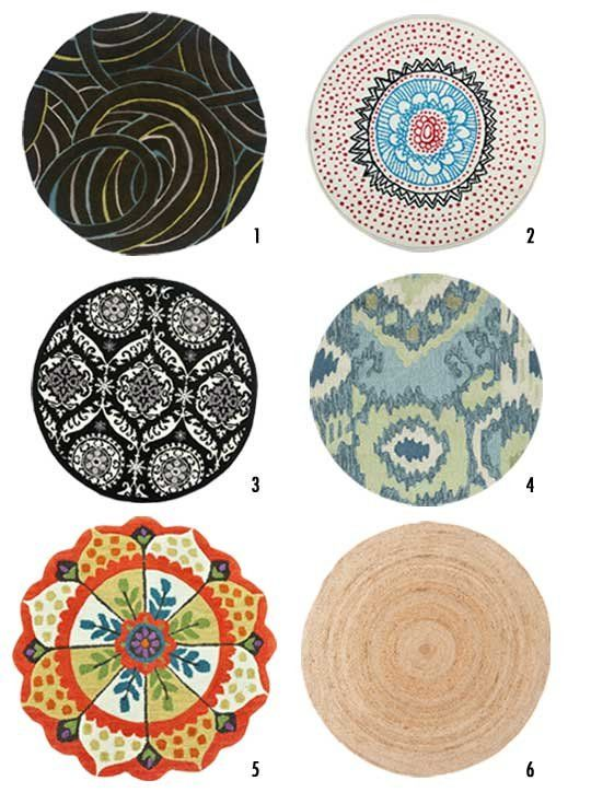 Awesome Round Rugs To Make A Small Space Feel Larger   Apartment Therapy