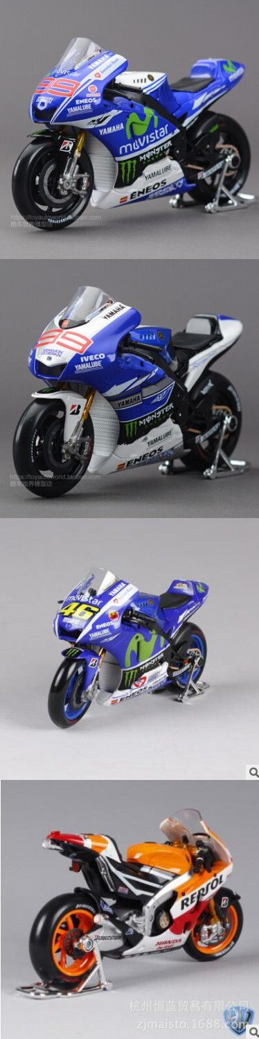 Maisto 1:10 2014&2013 Yamaha YZR-M1 Motorcycle model simulation alloy Moto GP racing No.99 kids toy Collection free shipping