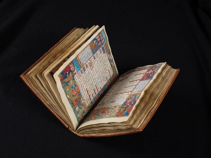 e-codices - Virtual Manuscript Library of Switzerland:  Two books of hours for Charles VIII These two books of hours were created by the same artist. Cod. 111 was a present from the Parisian publisher Anthoine Vérard to the French King Charles VIII (1470-1498). The margins of all pages are decorated with a pictorial narrative of eight consecutive images showing events from the Old and New Testament, accompanied by explanatory verses in French. Cod. 110, assumed to be a supplement to C