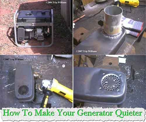 How To Make Your Generator Quieter   If you have just bought a generator for your home. It is a side valve engine that's so common on lower priced units. And
