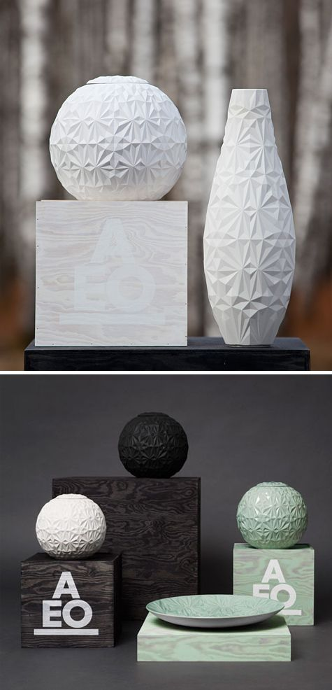 dusty diamonds, handmade stoneware > by AEO studio