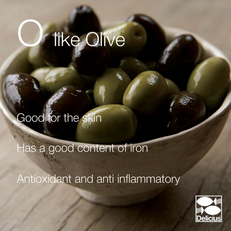 The Delicius Alphabet | O like Olive - a great addition to any salad!