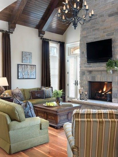 President S House Lindenwood University, Traditional Family Room, St Louis