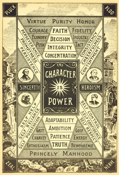 """The highest object of life is the possession of a good character. The foundations of civil security, the progress and civilization of nations depend upon individual character. Character is power in a much higher sense than that knowledge is power."" Henry F. Kletzing This illustration served as the frontpiece to a book published in 1899: Traits of Character Illustrated in Bible Light by Henry F. Kletzing. Enlarged and sharpened to beautifully display the qualities of true character, this…"