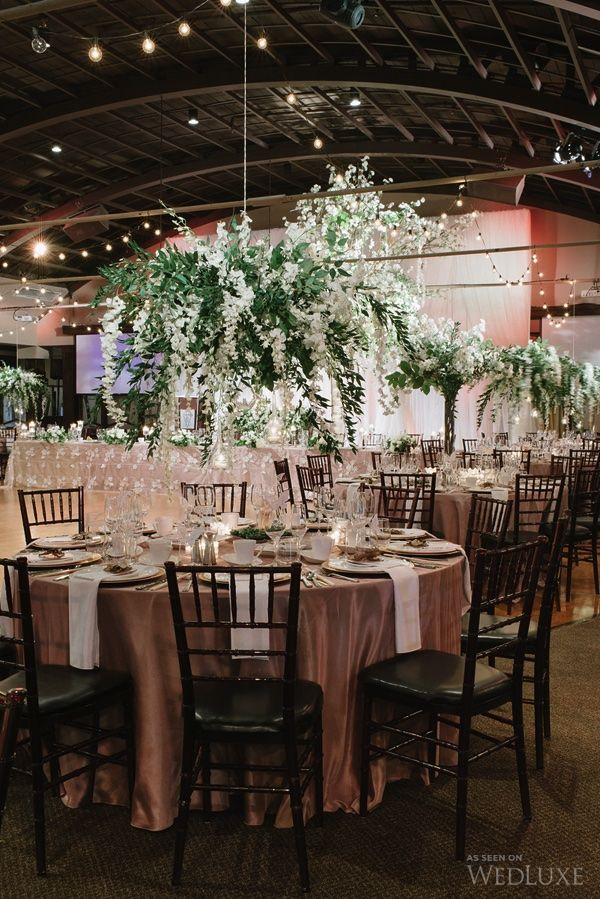 40 best wedding decorations event decorations australia images luxurious hanging floral centerpiece at a palais royale wedding in toronto junglespirit Gallery