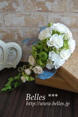 Preserved Flower Arrangement  Belles ***  http://www.belles.jp