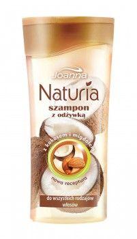 Szampon o smakowitym zapachu kokosa i migdałów nawilży, wygładzi i zmiękczy Twoje wymagające włosy.
