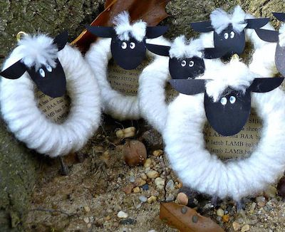 8 Sheep Crafts for Chinese New Year (or Easter, spring, Eid, etc:)