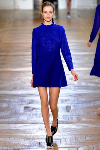 Stella McCartney Fall 2012: Mccartney Fall, Ready To Wear, Paris Fashion, Blue, Fashion Week, Fall2012, Fall 2012, Stella Mccartney Dresses, Stellamccartney