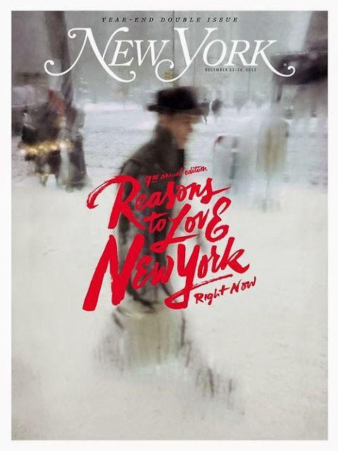 New York Magazine's great cover typography