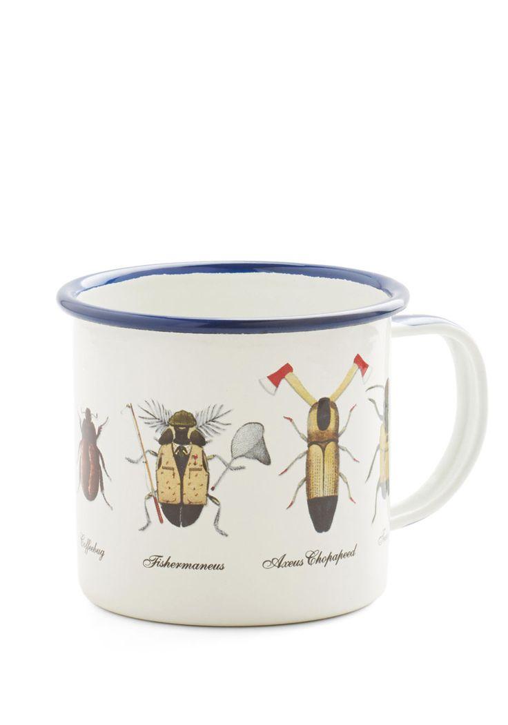 Smitten by the Same Bug Mug