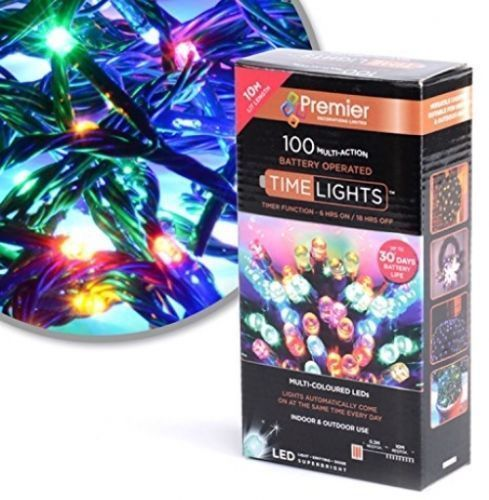 Premier 100 Multi Action Battery Operated LED with Timer  #Premier