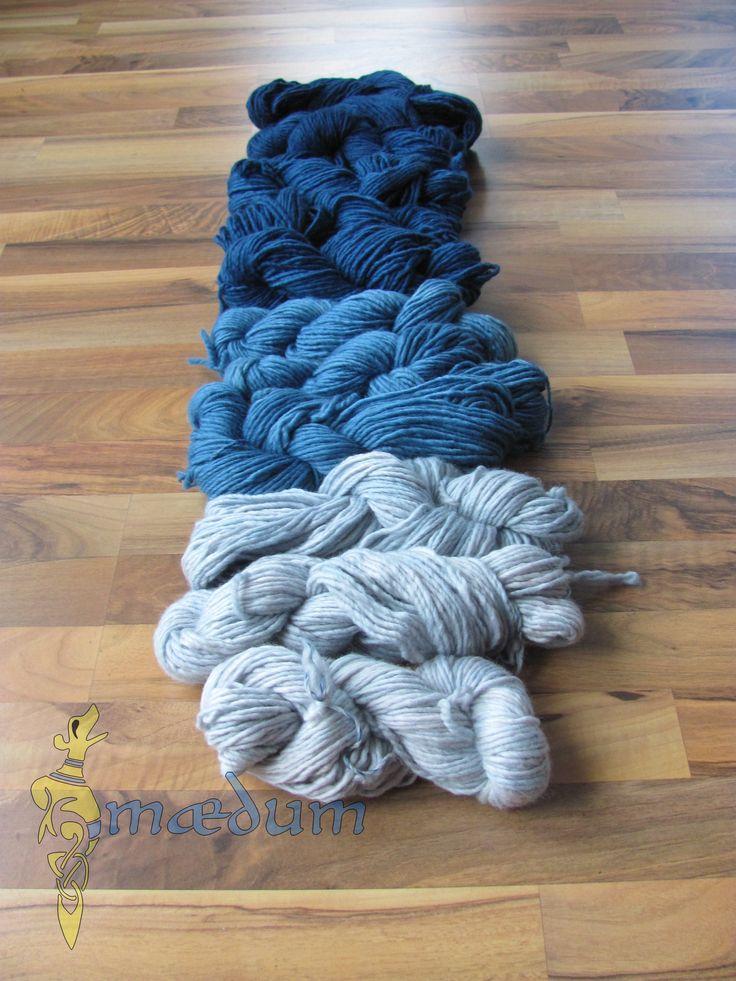 Wir machen blau - Indigo auf Wolle