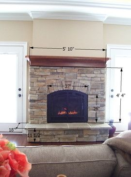 Arched fireplace - traditional - living room - other metro - by COASTROAD Hearth & Patio