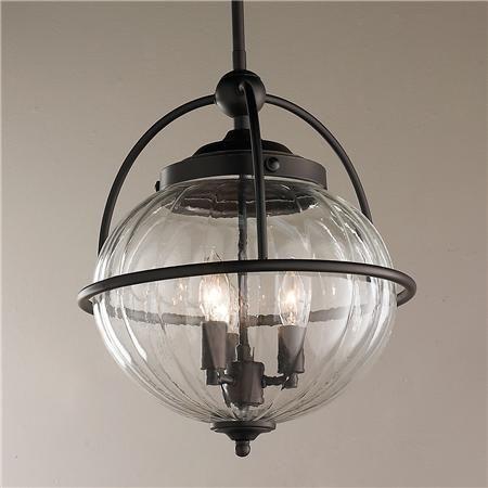 Nautical Lantern Style Pendant - Large