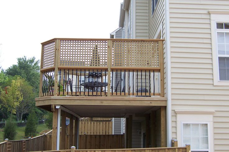 17 best images about deck styles builds on pinterest for Lattice privacy panels for decks