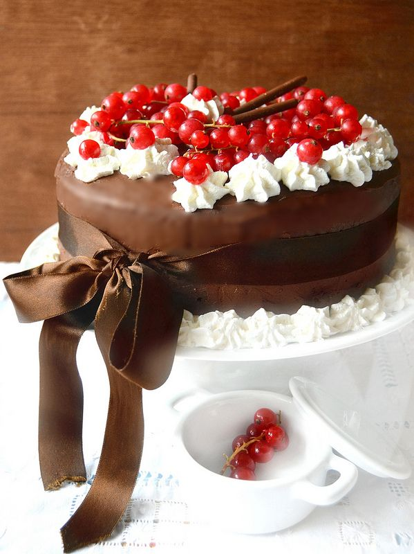 Chocolate cake ...buon compleanno!