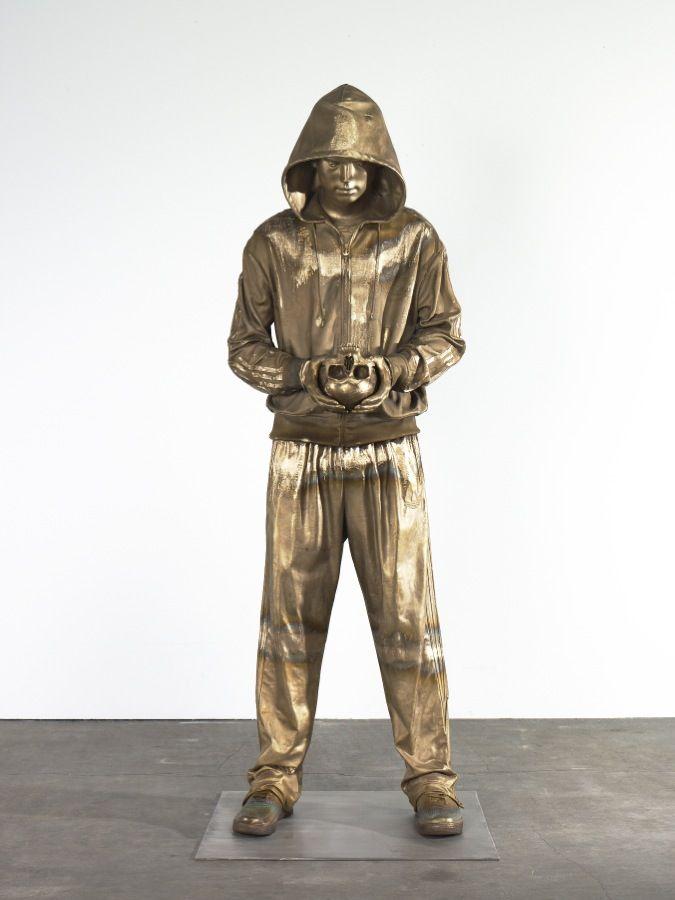 Sculpture by Marc Quinn.