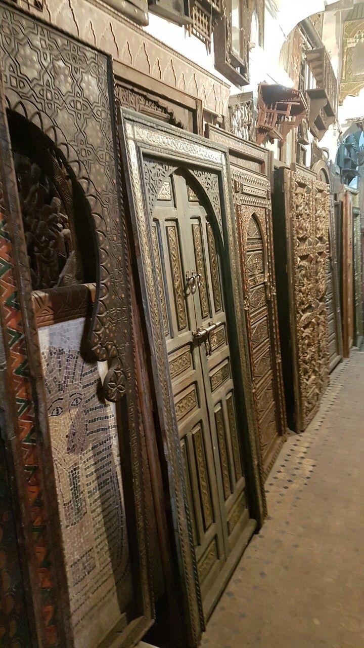Fabrica de portas em Marrakech - Marrocos