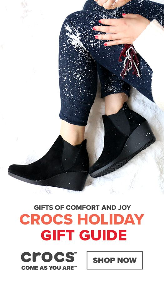8adefa97c95e Comfortable shoes make great gifts. Shop comfortable and cozy shoes for the whole  family this season.