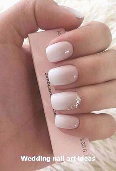 35 einfache Ideen für Hochzeit Nägel Design #nailart – Lovely Wedding nails