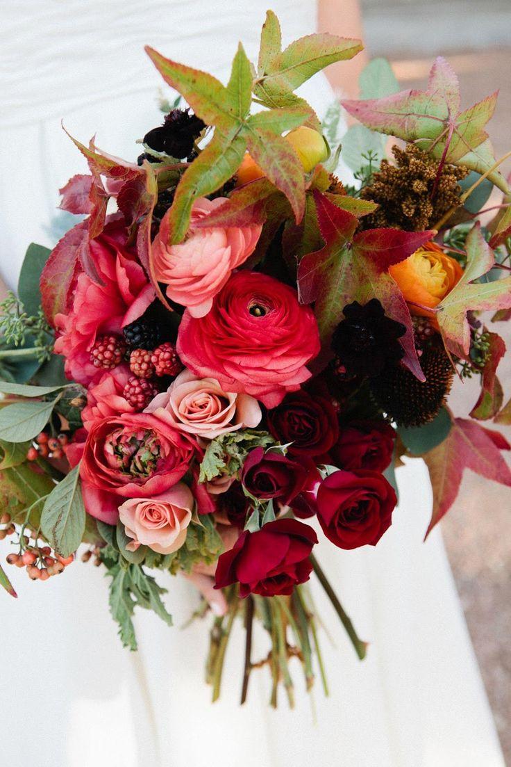 bouquet sposa d'autunno