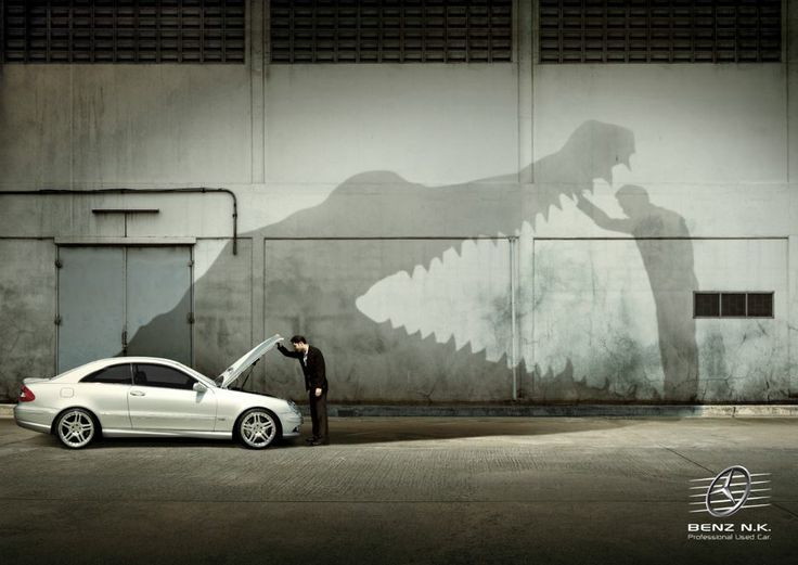 Mercedes Benz Car Advert - Aligator | Mercedes-Benz Ads ...