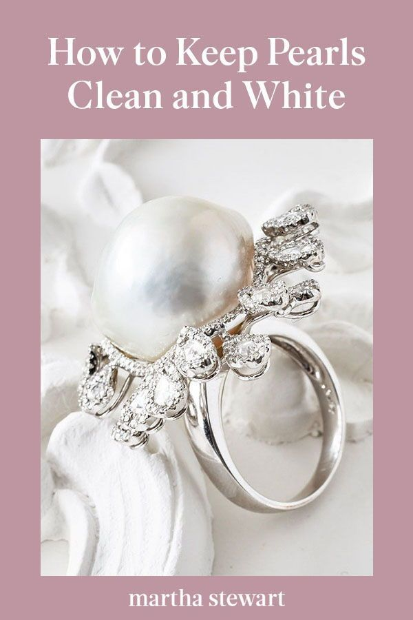 How To Keep Pearls Looking Clean And White How To Clean Pearls Cleaning Jewelry Pearls