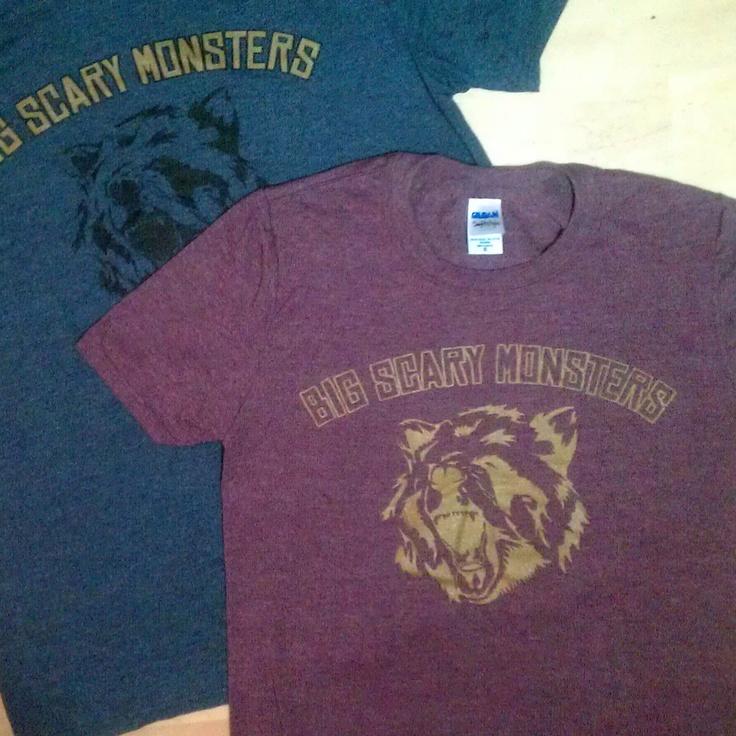Big Scary Monsters bear tee