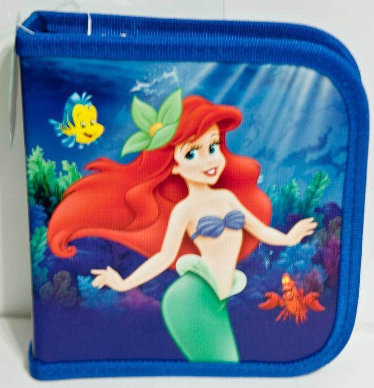 Little Mermaid 44036: Disney Princess Little Mermaid Ariel Holds 24 Cd Or Dvd Case -> BUY IT NOW ONLY: $35 on eBay!