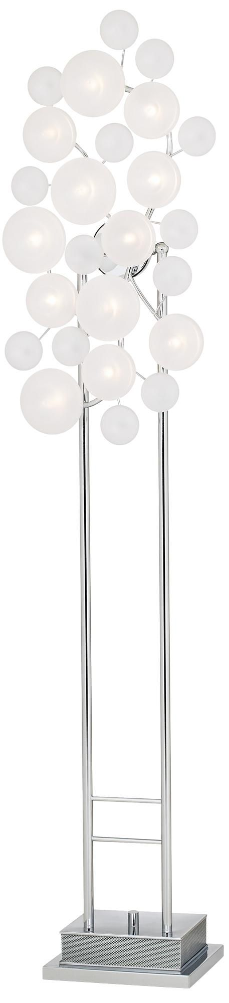 161 best lighting floor lamps images on pinterest chandeliers possini euro design etched glass lilypad floor lamp lampsplus aloadofball Images