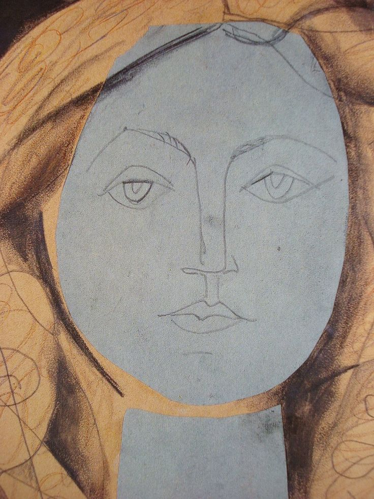 """Pablo Picasso, collage approach to drawing, --in my new workshops """"How to draw creatively"""" starting 28th of April in Brixton http://www.eventbrite.co.uk/e/how-to-draw-creatively-tickets-16446682470?aff=erellivorg"""
